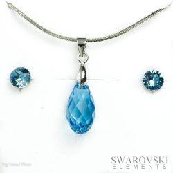 PJ Swarovski Elements szett 7 - Kék