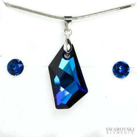 PJ Swarovski Elements szett 5 - Kék
