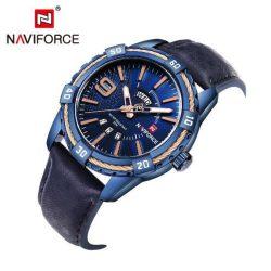 Naviforce műbőr férfi karóra - Kék